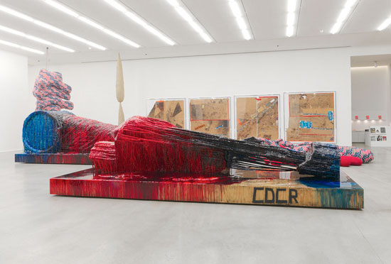 Sterling Ruby Exhm At Hauser Amp Wirth