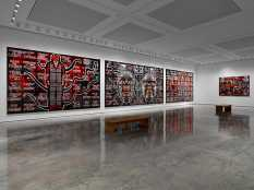 From GalleriesNow.net - Gilbert & George: SCAPEGOATING PICTURES for London @White Cube Bermondsey, London