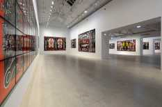 From GalleriesNow.net - Gilbert & George: Scapegoat Pictures @Galerie Thaddaeus Ropac, Pantin, Paris