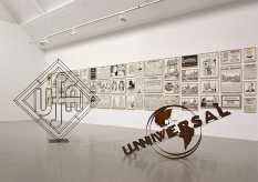 From GalleriesNow.net - Fernando Bryce: To The Civilized World @Galerie Barbara Thumm, Berlin