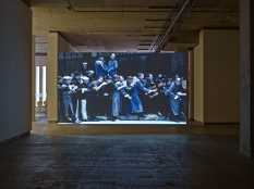From GalleriesNow.net - Corrections To The First Draft Of History @Frith Street Gallery, London