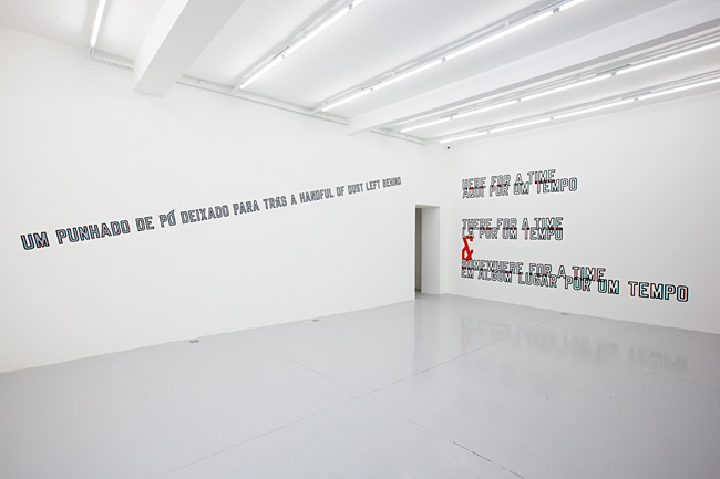 Mendes Wood DM Lawrence Weiner Somewhere 1