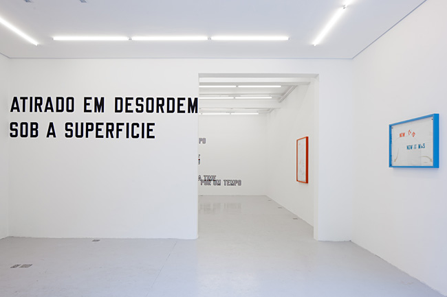 Mendes Wood DM Lawrence Weiner Somewhere 3