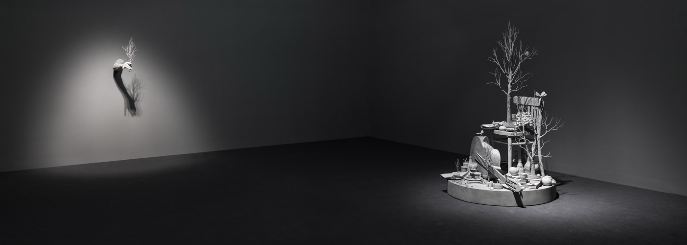 Hans Op de Beeck: The night time drawings at Galleria Continua Beijing