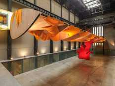 From GalleriesNow.net - Richard Tuttle: I Don't Know . The Weave of Textile Language @Tate Modern, London