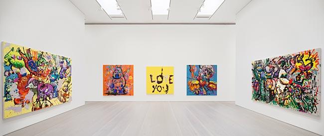 Galerie Forsblom Bjarne Melgaard 1