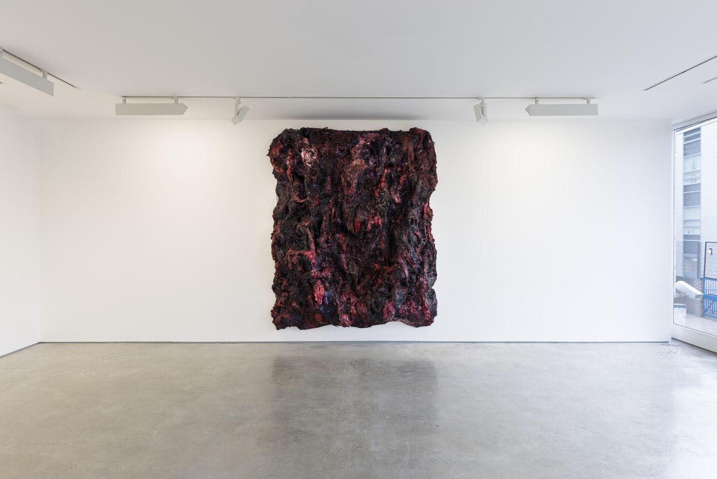 Anish Kapoor <em>Shedding</em>, 2014. Silicone and pigment 235 x 199 x 65 cm © the artist; Courtesy, Lisson Gallery, London (image ref #: KAPO150013)