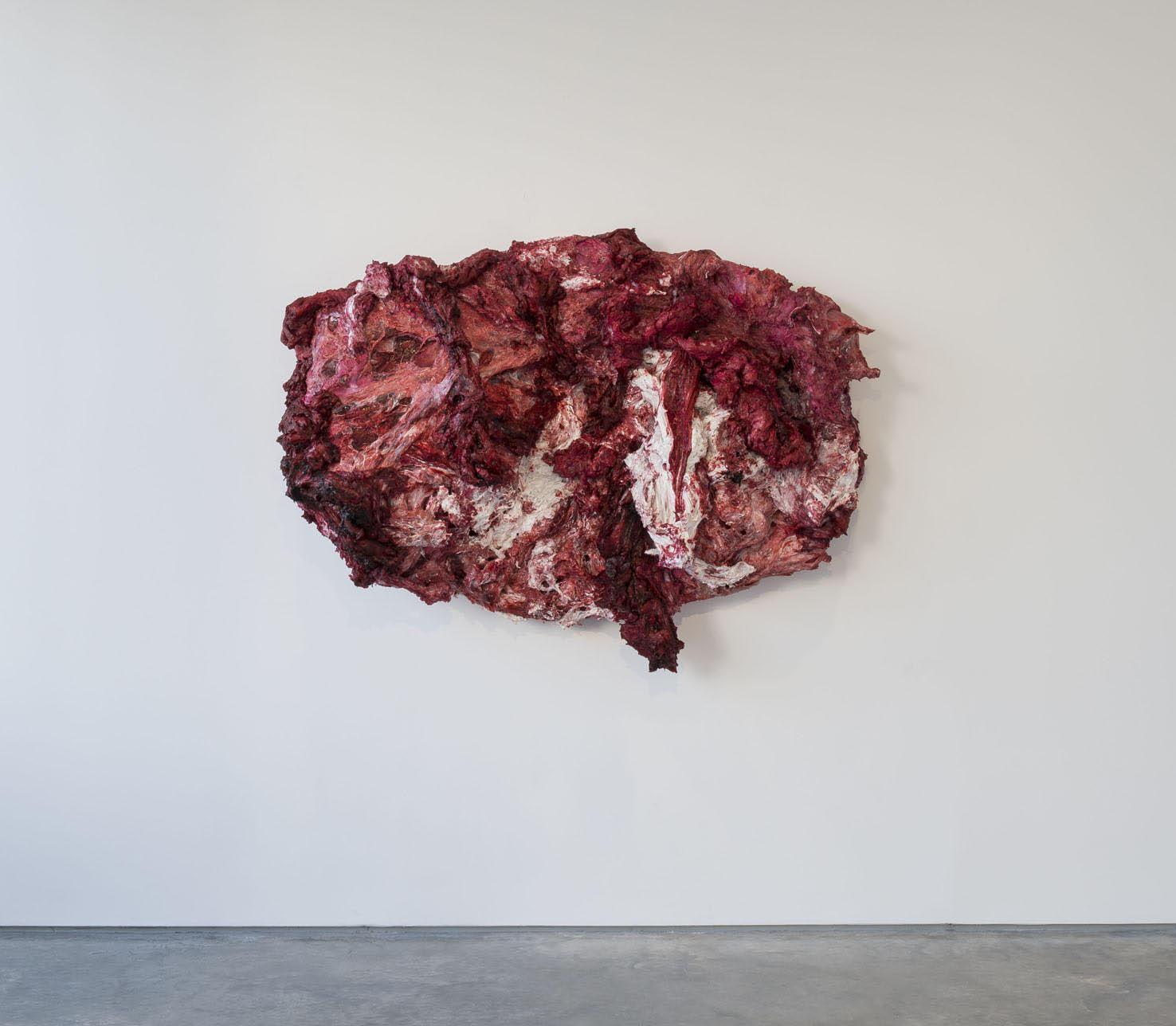 Anish Kapoor <em>Disrobe</em>, 2013. Silicone and pigment 140 x 188 x 55 cm © the artist; Courtesy, Lisson Gallery, London (image ref #: KAPO150015)