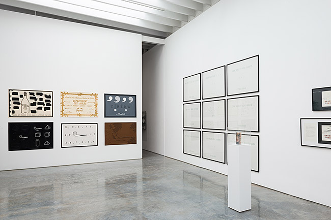 Paul Kasmin Gallery Marcel Broodthaers 6