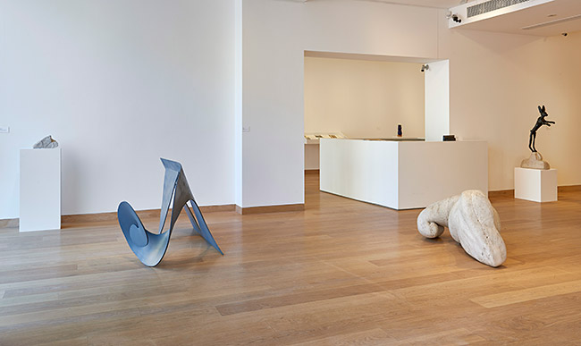 Waddington Custot Galleries Barry Flanagan 1