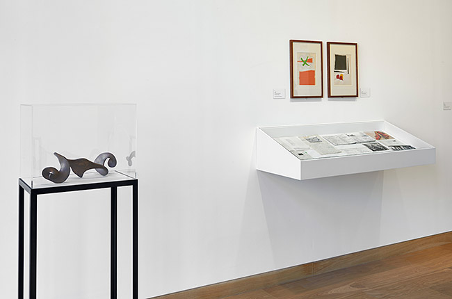 Waddington Custot Galleries Barry Flanagan 4