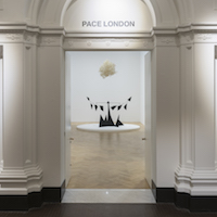 Leo Villareal @Pace, Burlington Gardens, London  - GalleriesNow.net
