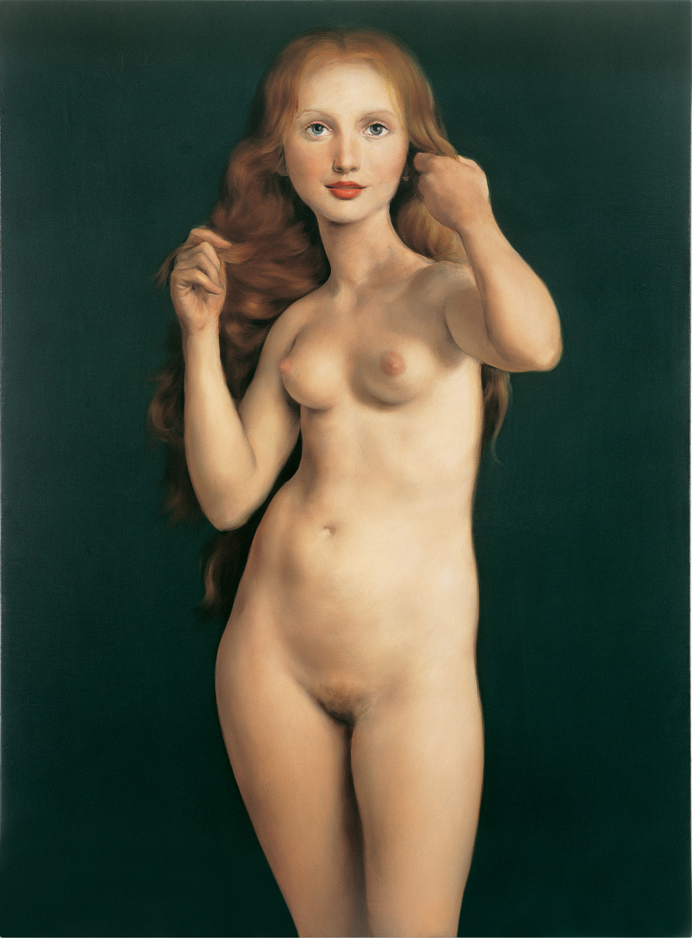 Andy Richter Nude nude: from modigliani to currin at gagosian