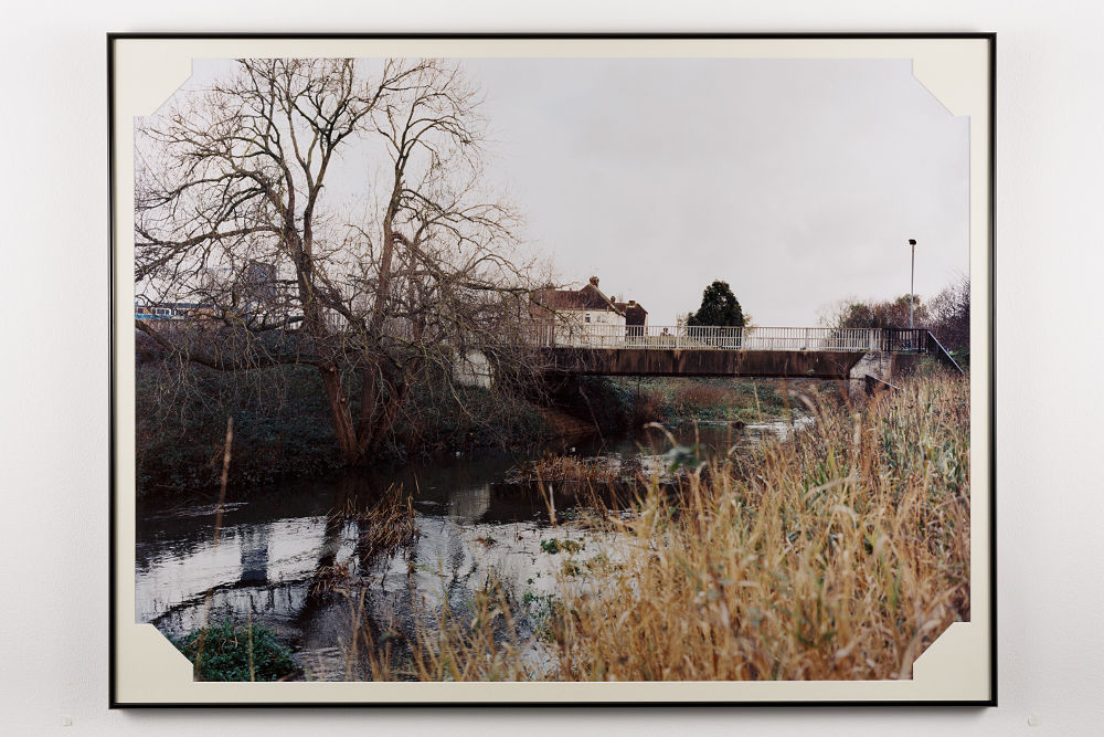 Andrew Munks, River Roding, 2017. C-type print, framed