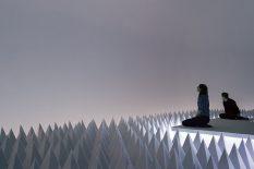 From GalleriesNow.net - Doug Wheeler: PSAD Synthetic Desert III @Guggenheim Museum, New York
