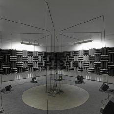 From GalleriesNow.net - Annual Commission: hrm199 Haroon Mirza, For A Partnership Society @Zabludowicz Collection, London