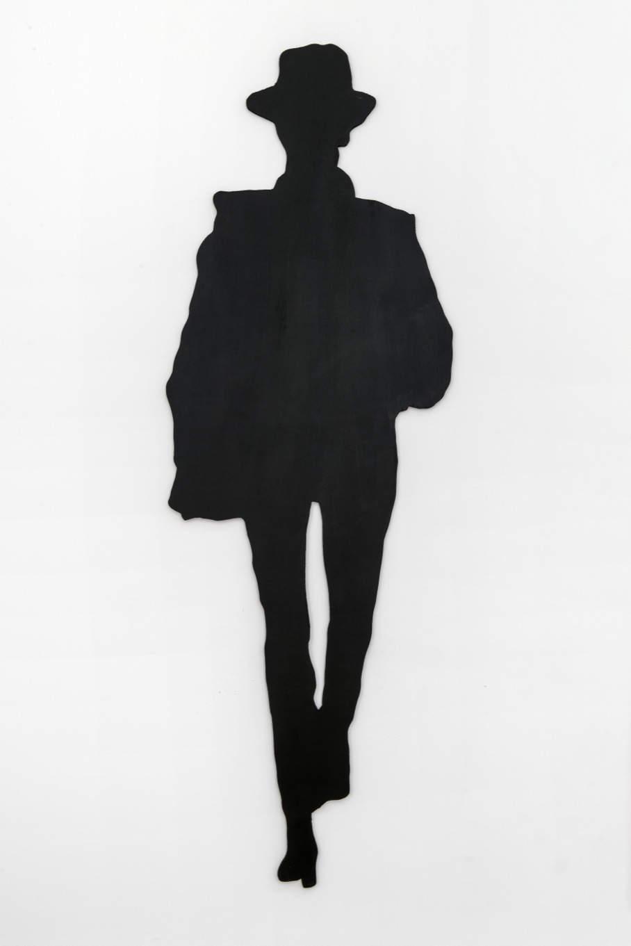 Sturtevant, Large Scale Model Beuys, La Rivoluzione Siamo Noi. Board 204 x 75 cm (80,3 x 29,5 in)