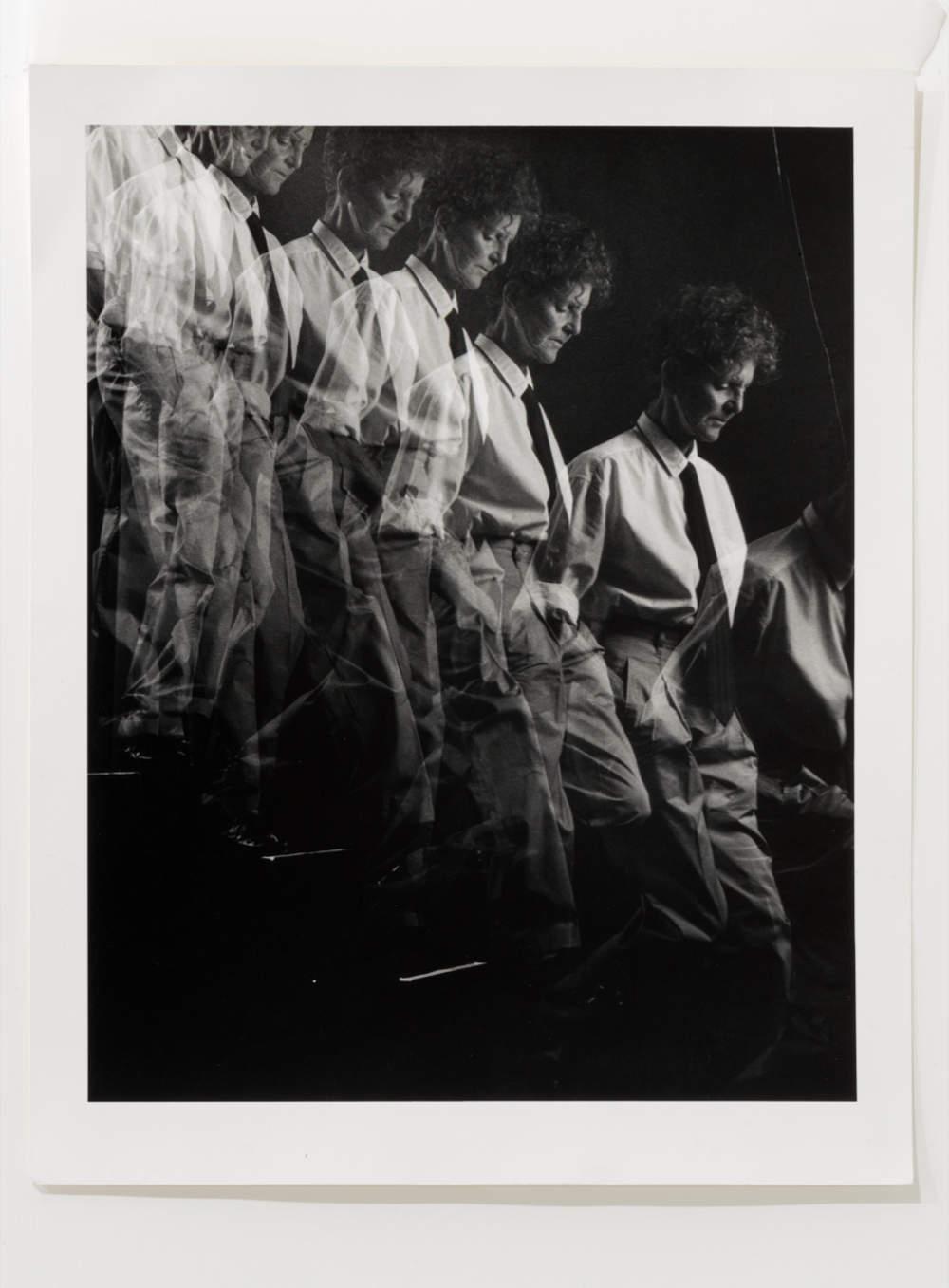 Sturtevant, Duchamp Marcel Duchamp. Black and White Photograph, hand print 35 x 27,9 cm (13,78 x 10,98 in) 20,8 x 24,3 cm (8,19 x 9,57 in) 43,5 x 37,5 cm (17,13 x 14,76 in)