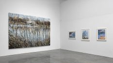 From GalleriesNow.net - Anselm Kiefer: Transition from Cool to Warm @Gagosian West 21st St, New York