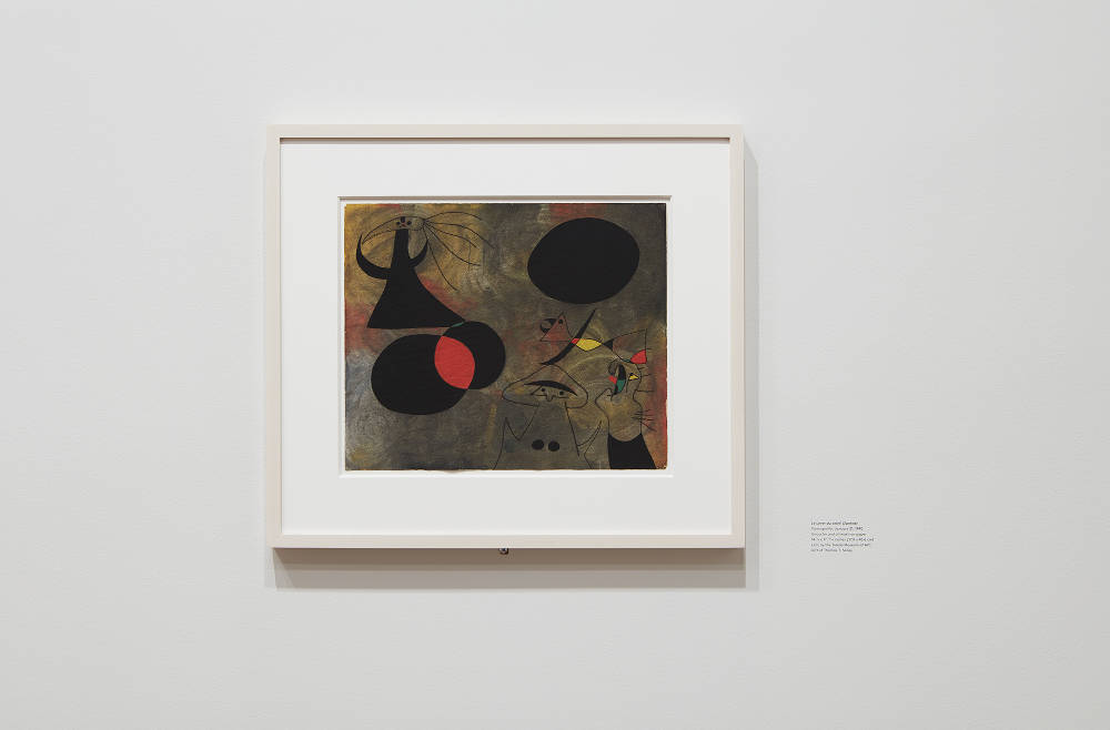 Joan Miró, Sunrise. Varengeville, January 21, 1940. Toledo Museum of Art; Gift of Thomas T. Solley (1996.16). Photo by Kent Pell / Art © 2017 Successió Miró / Artists Rights Society (ARS), New York / ADAGP, Paris