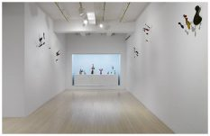 From GalleriesNow.net - Calder: Constellations @Pace, 32 East 57th St, New York