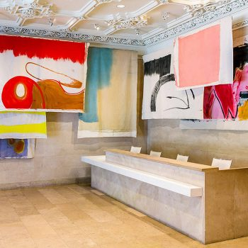 Using Walls, Floors, and Ceilings: Vivian Suter @The Jewish Museum, New York  - GalleriesNow.net
