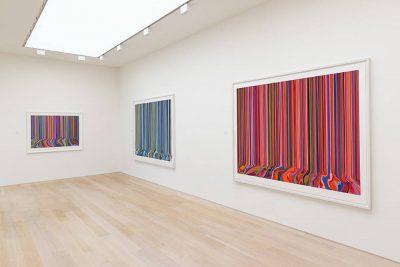 From GalleriesNow.net - Ian Davenport: Melismatic @Alan Cristea Gallery, London West End