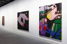 From GalleriesNow.net - Ellen Berkenblit @Anton Kern Gallery, New York