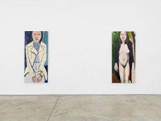 From GalleriesNow.net - Chantal Joffe @Cheim & Read, New York
