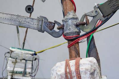 From GalleriesNow.net - Chelpa Ferro: Spacemen/Cavemen @Sprovieri, London West End