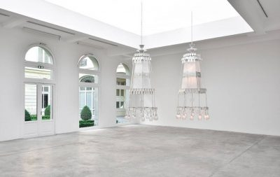 From GalleriesNow.net - Cerith Wyn Evans: Af if, seeing in the manner of listening…hearing, as if looking @Galerie Marian Goodman, Paris