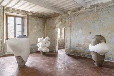 From GalleriesNow.net - Subodh Gupta: In This Vessel Lies the Philosopher's Stone @Galleria Continua San Gimignano, Siena