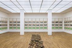 From GalleriesNow.net - Hanne Darboven. Correspondences @Hamburger Bahnhof - Museum fur Gegenwart, Berlin