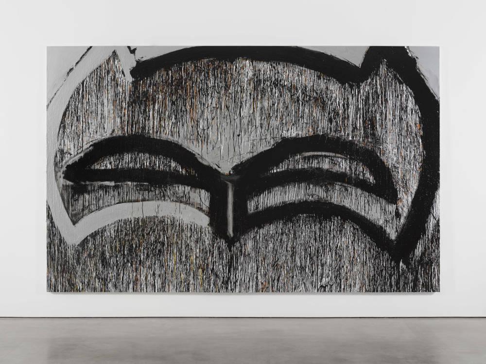 Joyce Pensato, FORGETABOUTITBATMAN, 2017 © Joyce Pensato; Courtesy Lisson Gallery