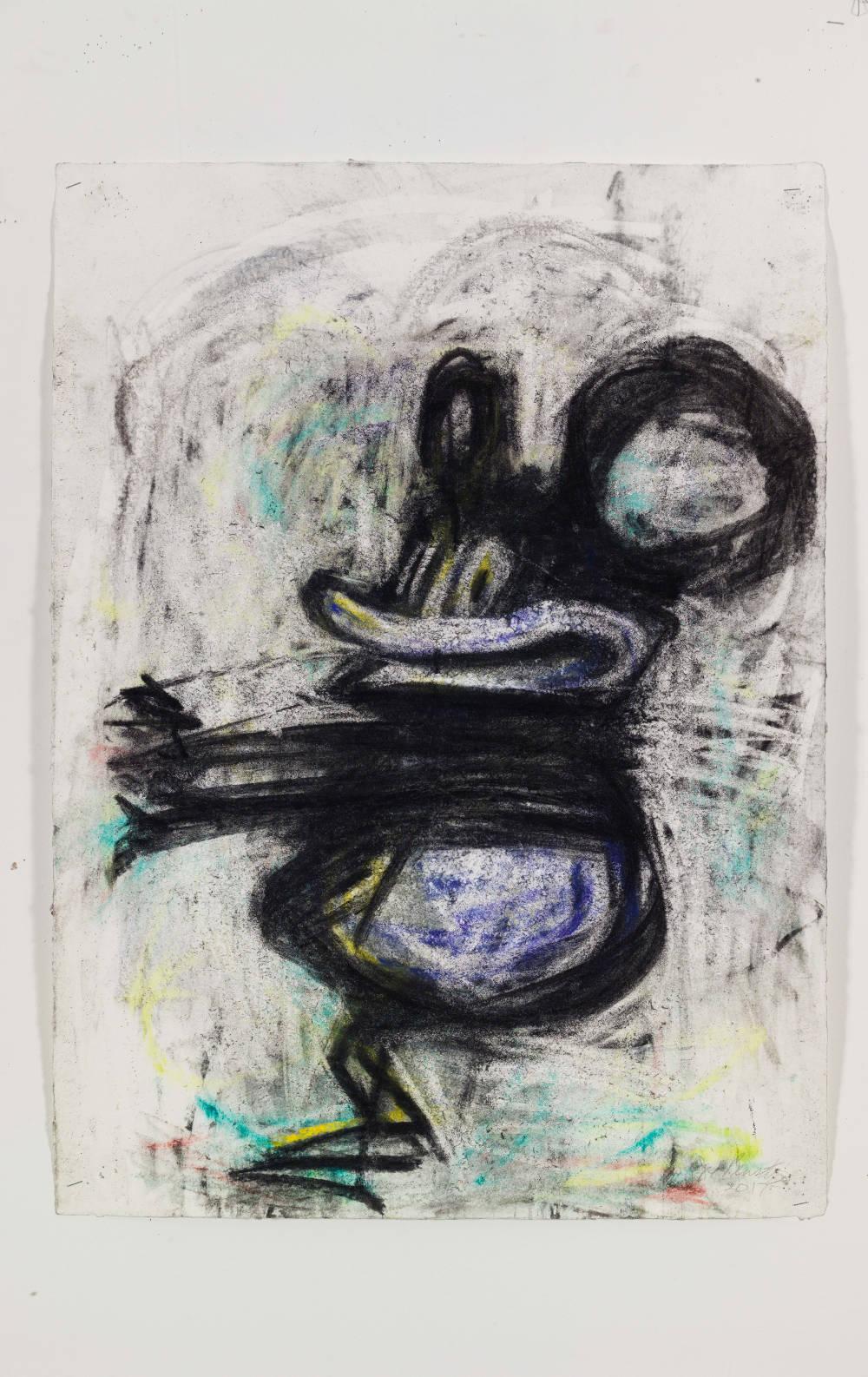 Joyce Pensato, Rhumba Mickey, 2017 © Joyce Pensato; Courtesy Lisson Gallery