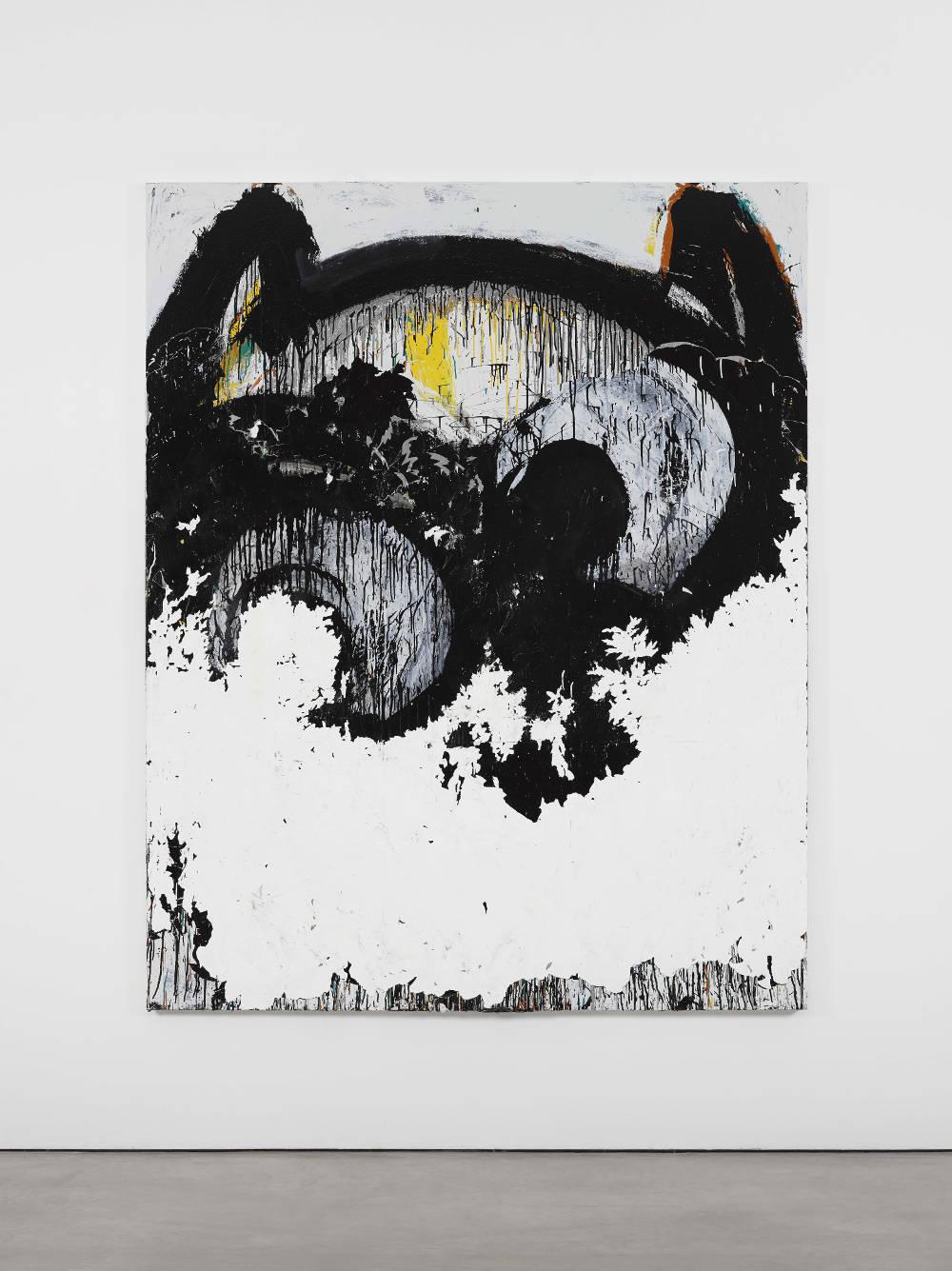 Joyce Pensato, The Erased Batman, 2017 © Joyce Pensato; Courtesy Lisson Gallery