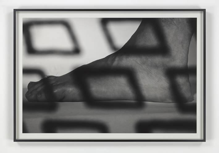 WYATT KAHN, Untitled, 2017. Silver gelatin print, framed Sheet 67 x 101 cm / 26 3/8 x 39 3/4 inches Frame 74.5 x 108.5 cm / 29 3/8 x 42 3/4 inches