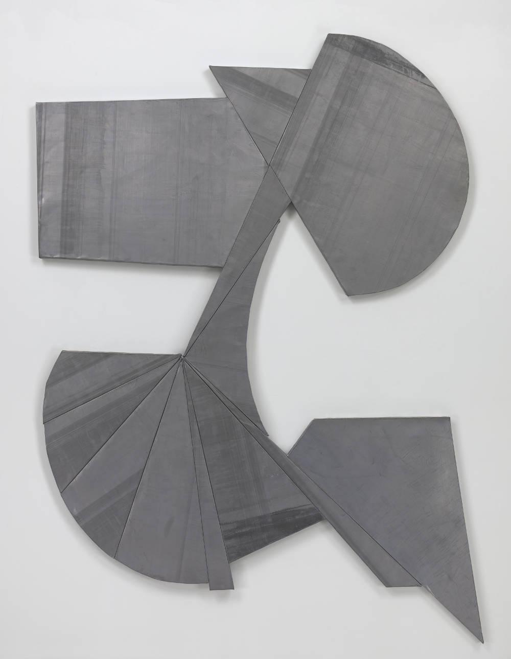 WYATT KAHN, Untitled, 2016. Lead on panel 240 x 180.5 cm / 94 1/2 x 71 inches