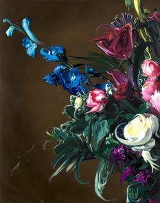 From GalleriesNow.net - Keith Tyson: Les Fleurs @Galerie Georges-Philippe & Nathalie Vallois, Paris