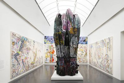 From GalleriesNow.net - Takashi Murakami: The Octopus Eats Its Own Leg @MCA Chicago, Chicago