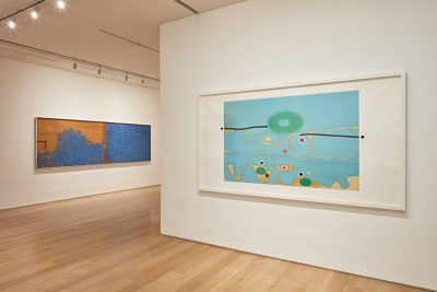 From GalleriesNow.net - Victor Pasmore: Between Risk and Equilibrium @Marlborough Fine Art, London