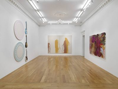 From GalleriesNow.net - John Armleder: RCHX @Massimo De Carlo, London, London