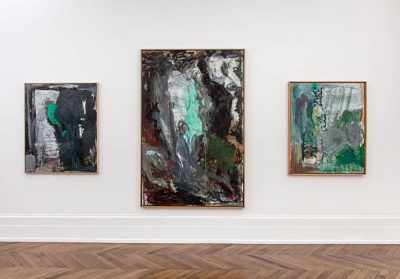 From GalleriesNow.net - Per Kirkeby: Paintings and Bronzes from the 1980s @Michael Werner Gallery, Mayfair, London