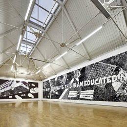 Aleksandra Mir – Space Tapestry: Earth Observation & Human Spaceflight @Modern Art Oxford, Oxford  - GalleriesNow.net