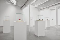 From GalleriesNow.net - Ron Nagle: Amended Testimony @Modern Art, London