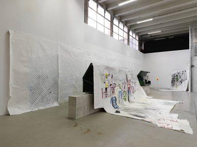 From GalleriesNow.net - Gareth Nyandoro: Stall(s) of Fame @Palais de Tokyo, Paris