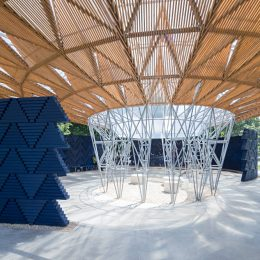 Serpentine Pavilion 2017 designed by Francis Kéré @Serpentine Gallery, London  - GalleriesNow.net