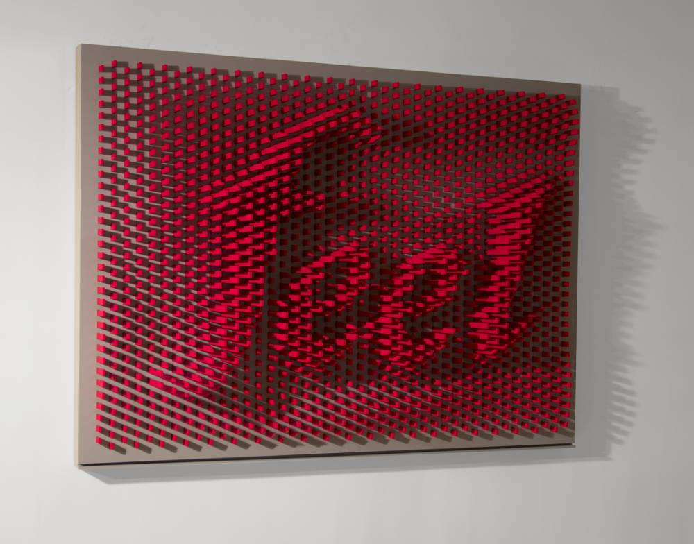 Ramin Shirdel, Feel, 2016. Mixed Media 180x133.2x28cm. Edition of 1 +1Ap