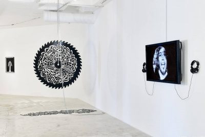 From GalleriesNow.net - mounir fatmi: Fragmented Memory @Goodman Gallery Johannesburg, Johannesburg