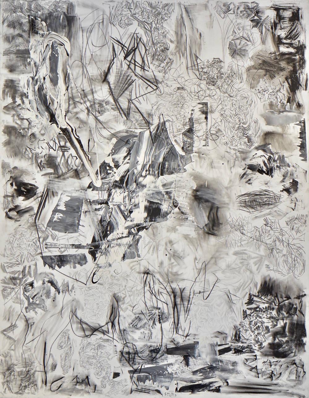 Eduardo Stupia, Landscape, 2015,180x140cm.